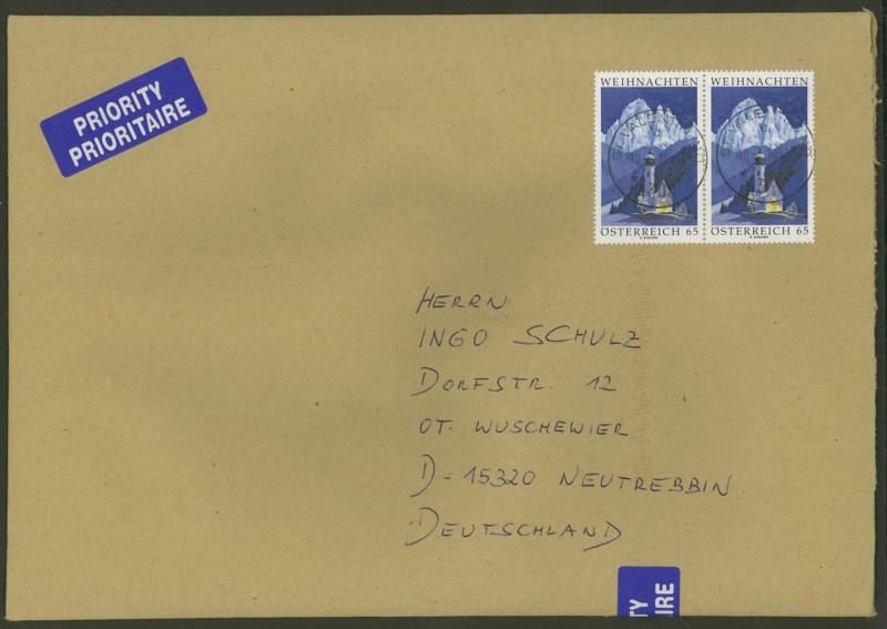 Österreich - Briefe an Cantus Ank_xx10