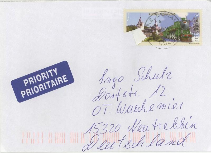 Postbelege - verhunzt und zerstört At10