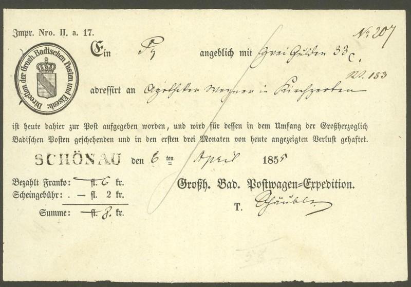 Postscheine aus Baden Baden_10
