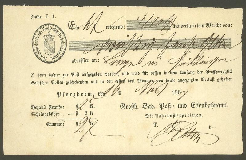 Postscheine aus Baden Baden_12