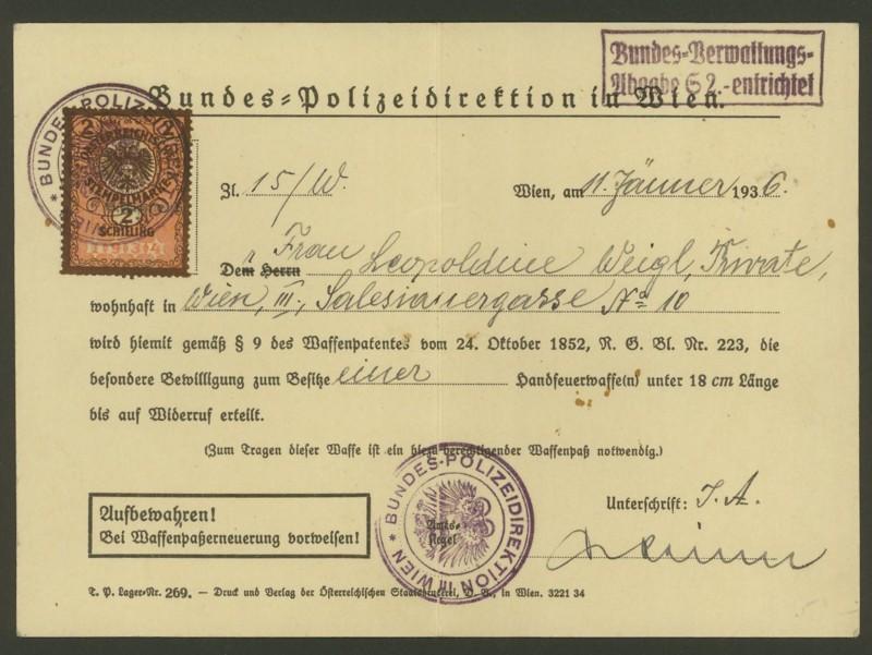 Die Verwendung von Fiskalmarken in Österreich Besitz11