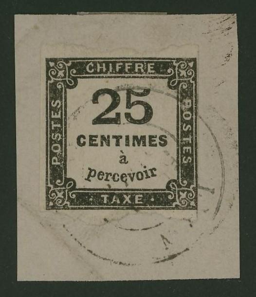 Frankreich  -  Die Portomarken Ceres_11