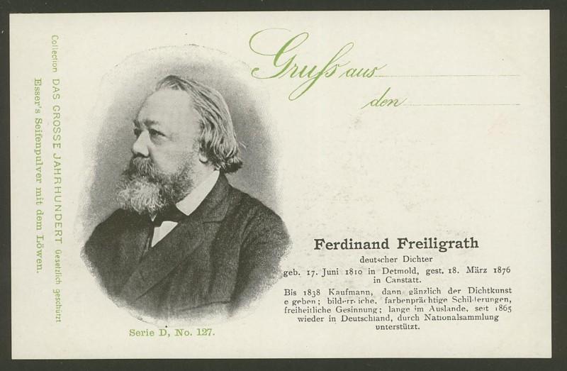 Sammlung Persönlichkeiten des 19. Jahrhunderts D_12710