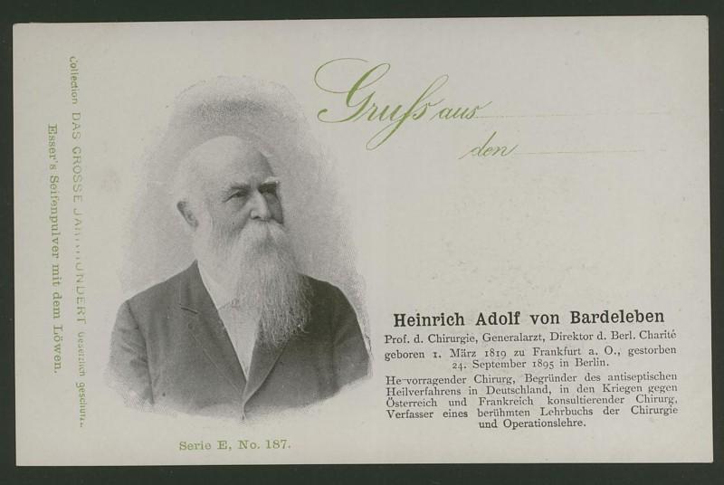 Sammlung Persönlichkeiten des 19. Jahrhunderts E_18710