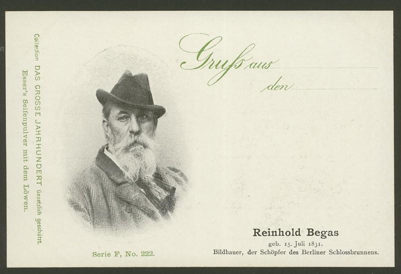 Sammlung Persönlichkeiten des 19. Jahrhunderts F_22210