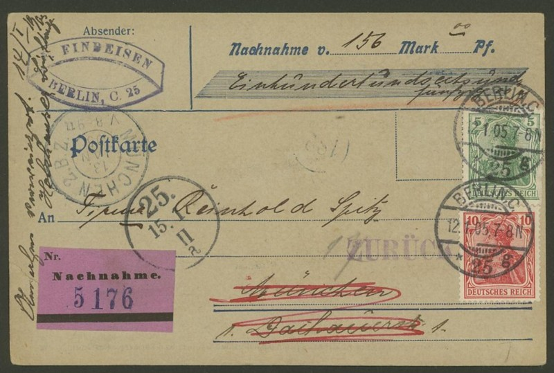 Germania-Frankaturen German10