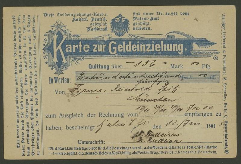 Germania-Frankaturen German11