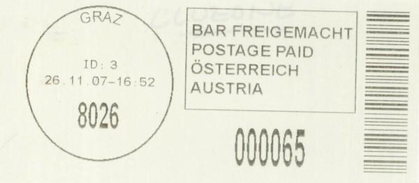 Bar-Codes in Österreich Graz_811