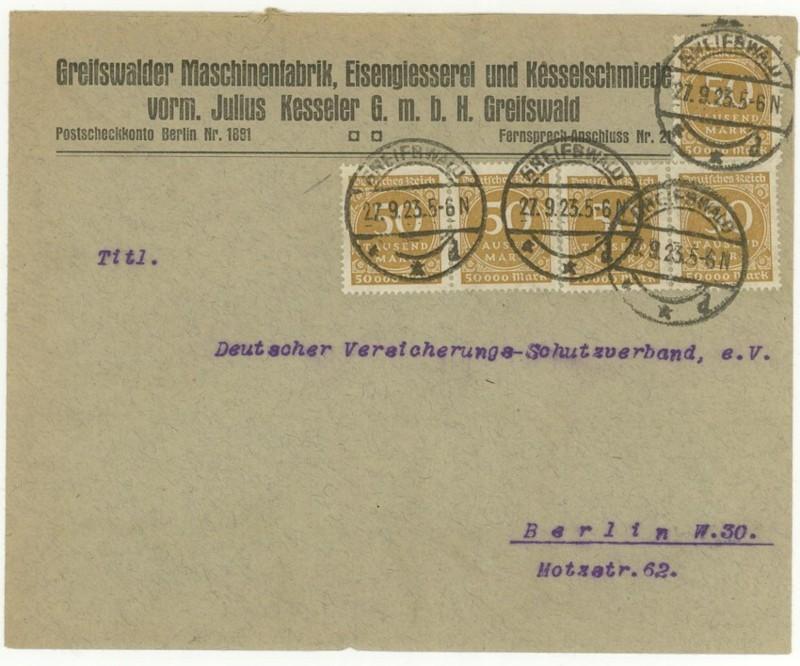 Reizvolle Briefe des Deutschen Reichs - Seite 2 Greifs10