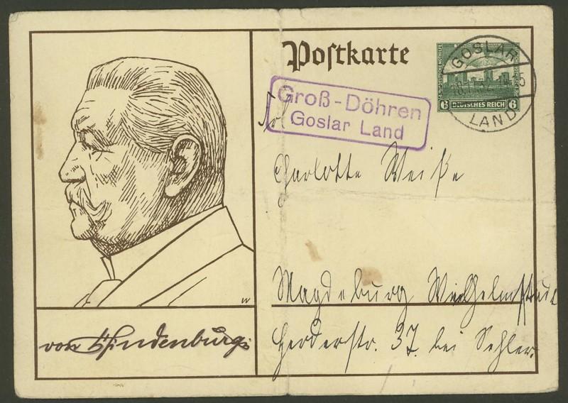 Deutschland  -  Landpoststempel (Poststellenstempel) Groay_10
