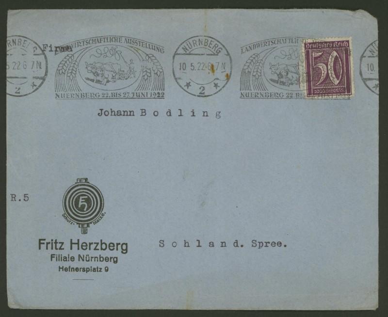 Maschinenwerbestempel - Deutsches Reich Herzbe10