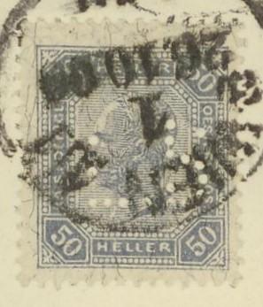 Briefe / Poststücke österreichischer Banken K_k_pr11