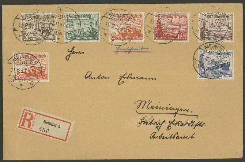 Reizvolle Briefe des Deutschen Reichs Mi_65110