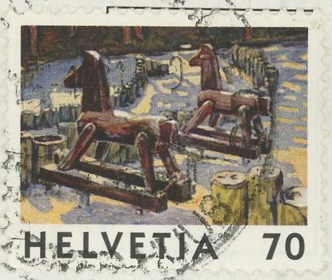 Horses / Pferde (Marken auf Brief oder Karte) N_pfer11