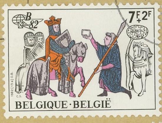 Horses / Pferde (Marken auf Brief oder Karte) N_pfer12