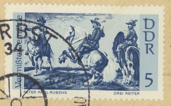 Horses / Pferde (Marken auf Brief oder Karte) N_pfer13