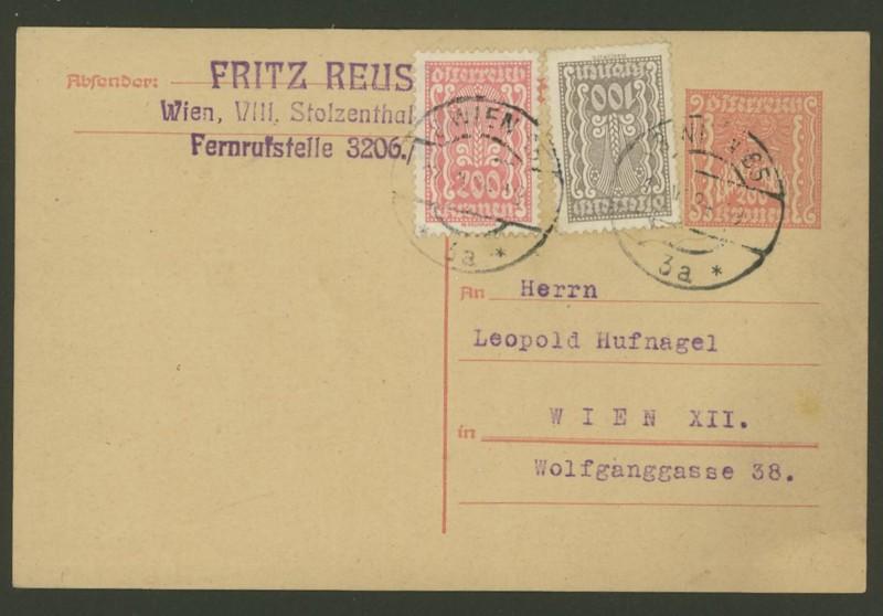 """Postkartenserie """"Quadratischer Wertstempel - Wertziffer im Dreieck"""" 1922-24 - Seite 2 P_259_10"""