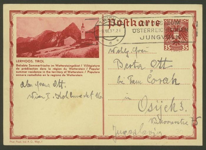 Bildpostkarten Österreich  -  Nachfrage P_302_10