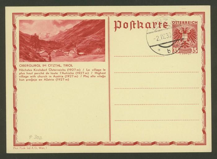Bildpostkarten Österreich  -  Nachfrage P_302_11