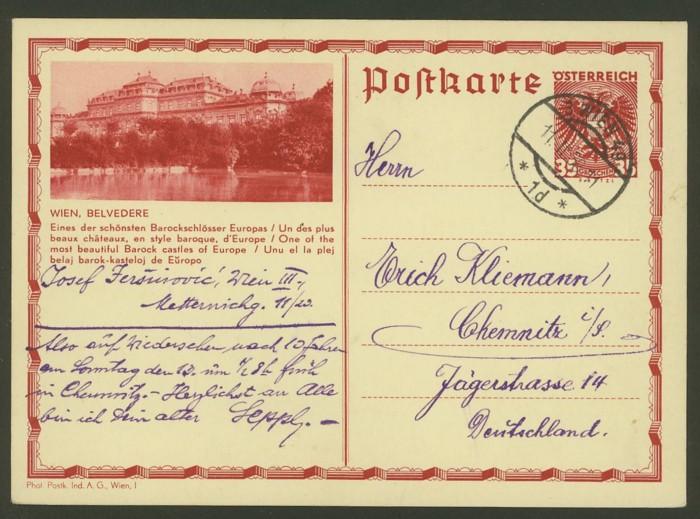 Bildpostkarten Österreich  -  Nachfrage P_302_12