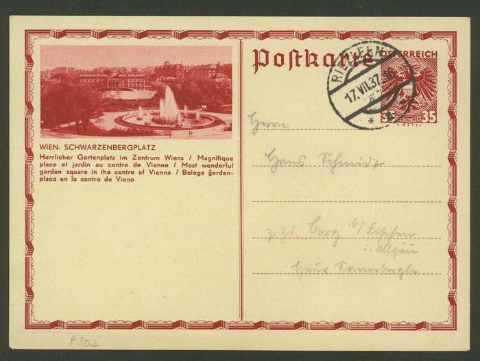 Bildpostkarten Österreich  -  Nachfrage P_302_13