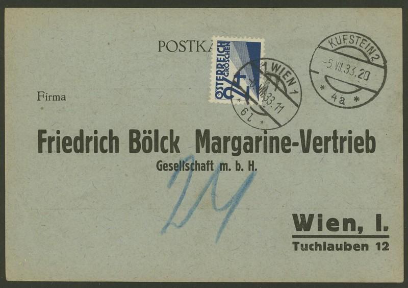 Verwendung von Portomarken in Österreich Porto_10