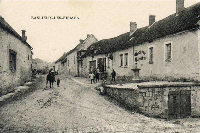 BASLIEUX-les-FISMES Cpa_le10