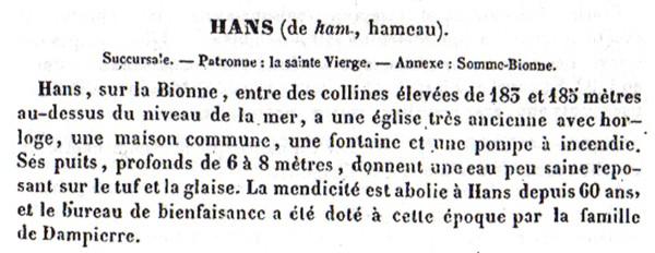 HANS Dictio12