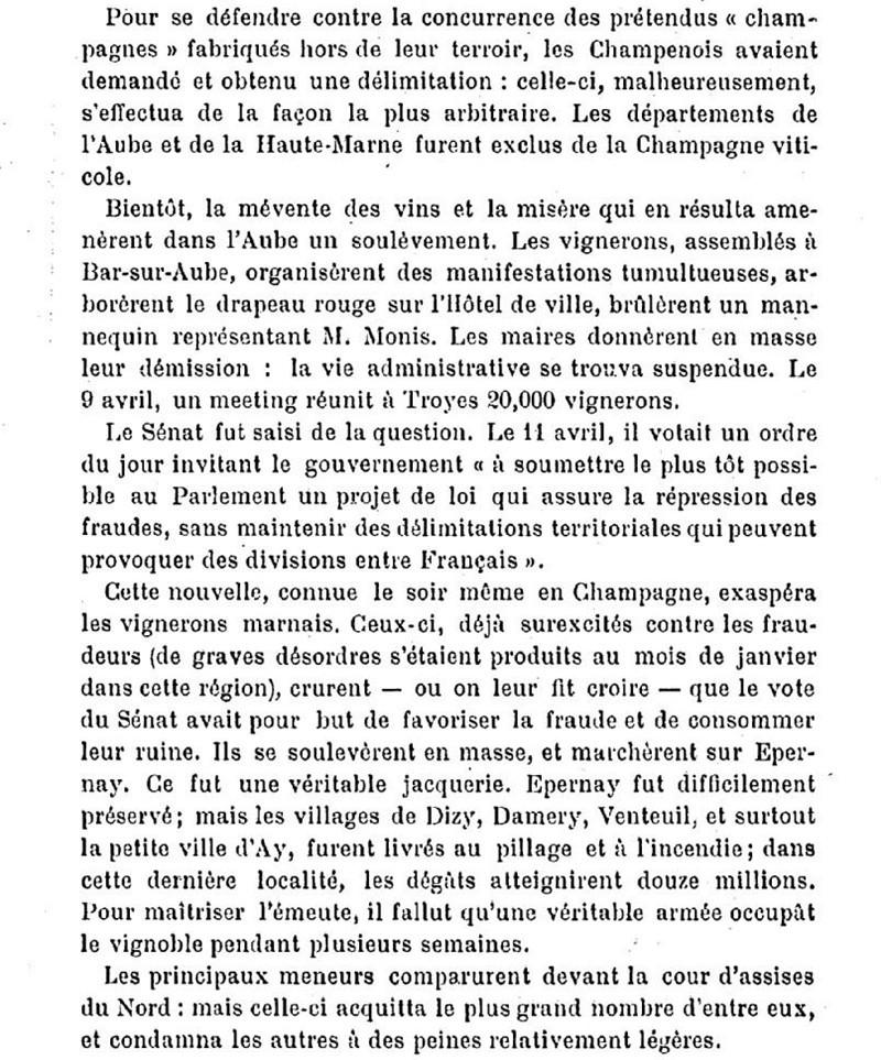 La Révolte des Vignerons en 1911 Hosott10