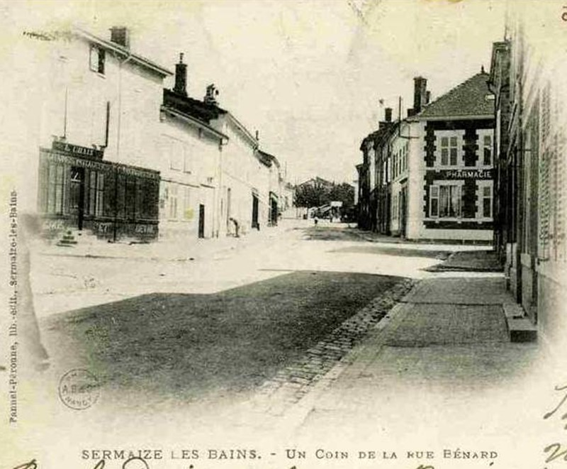 SERMAIZE-les-BAINS Rue_ba10