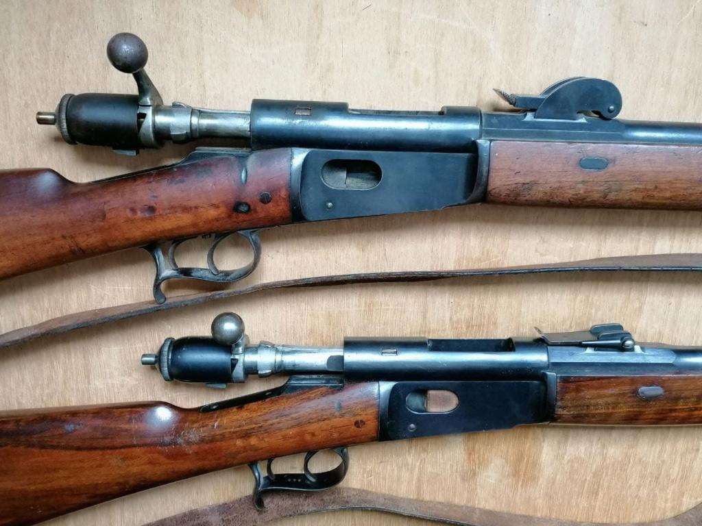 Carabine (Stutzer) d'infanterie 69/71 Vetterli 20210310