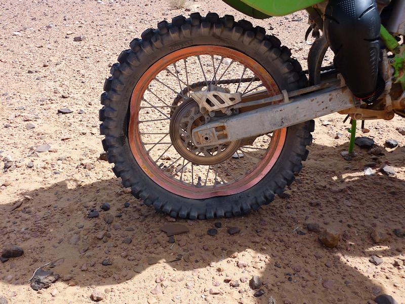 Prépa pour 7000km au Maroc  Roue10