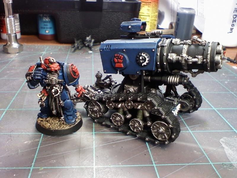 Techmarine & Thunderfire Cannon 06110010