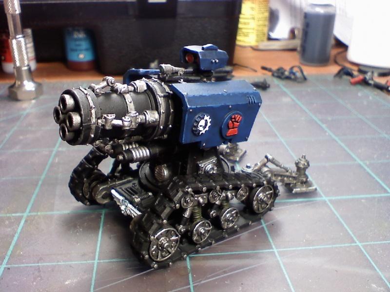 Techmarine & Thunderfire Cannon 06110011