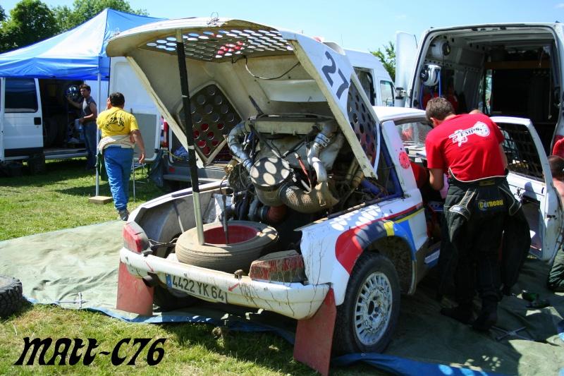 Photos parc assistance & fermé Rally154