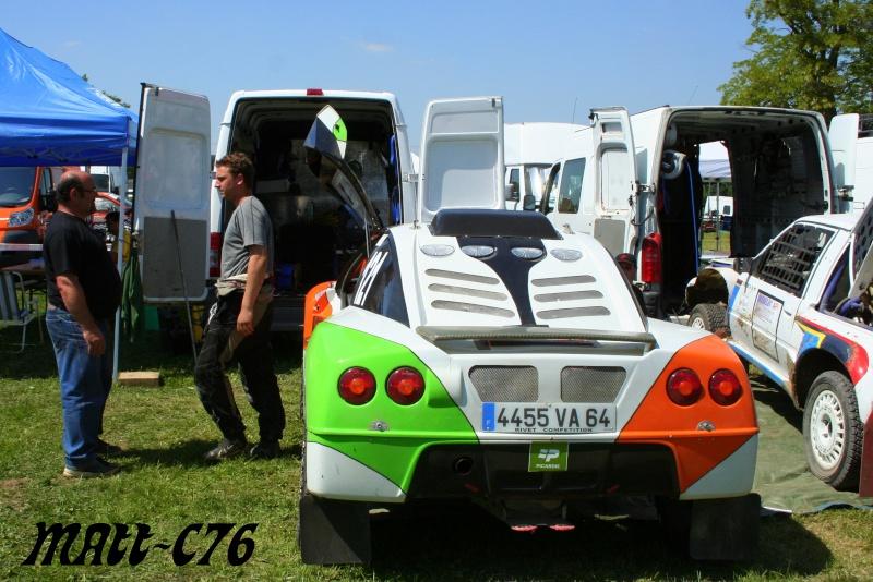 Photos parc assistance & fermé Rally155