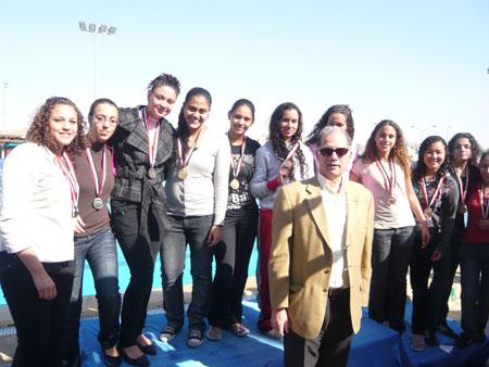 نادينا يحقق المركز الثاني في بطولة الجمهورية للسباحة بالزعانف P1030910