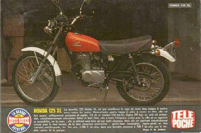 Pubs d'epoque honda  (tout modele ) Honda110