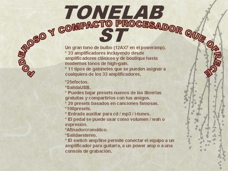 """VOX """"TONELAB ST"""" Diapos19"""