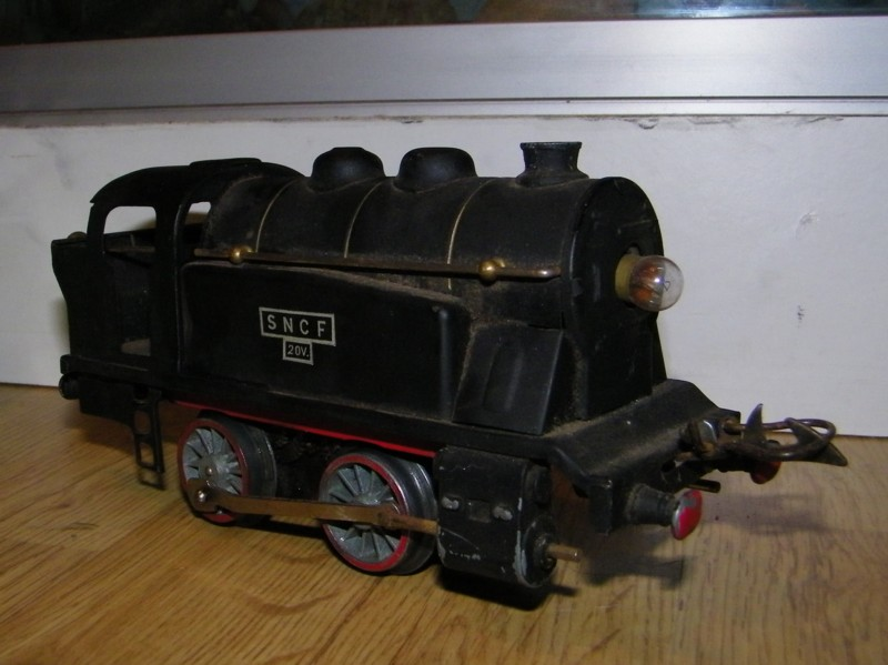 Locomotives à vapeur électriques 101e2420