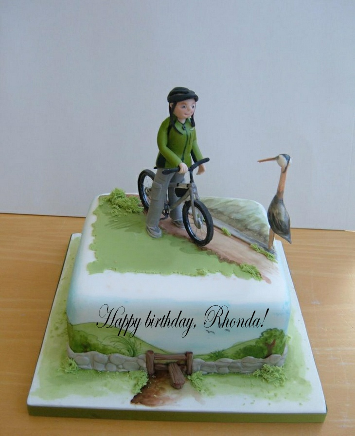 Happy birthday, Rhonda! Bike_b10