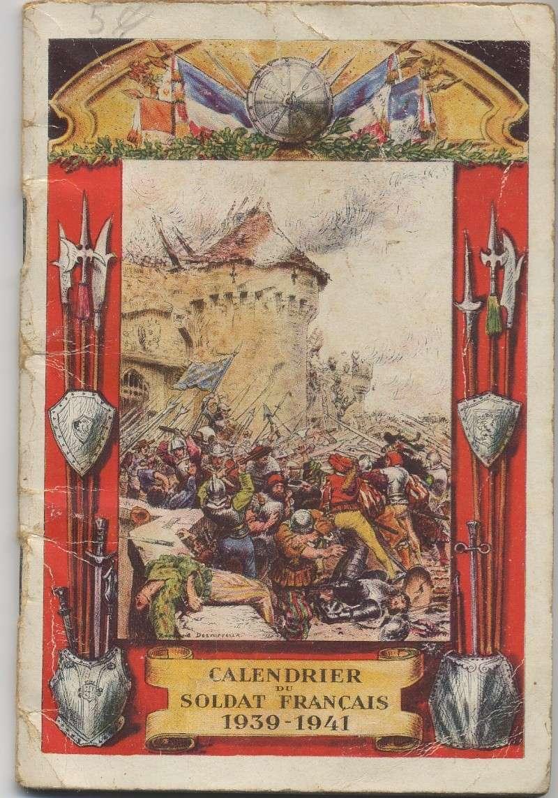 Les Calendriers et Agendas du Soldat Français Calend10