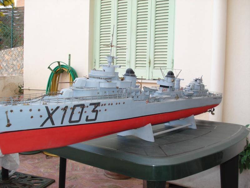 Contre torpilleur le Terrible parmarco au 1/100 - scratch Bateau16
