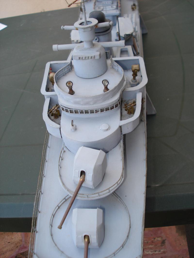 Contre torpilleur le Terrible parmarco au 1/100 - scratch Bateau18