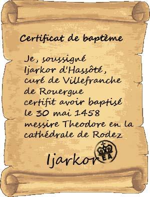 [RP] Entrevue avec Monseigneur Bushiro Certif11