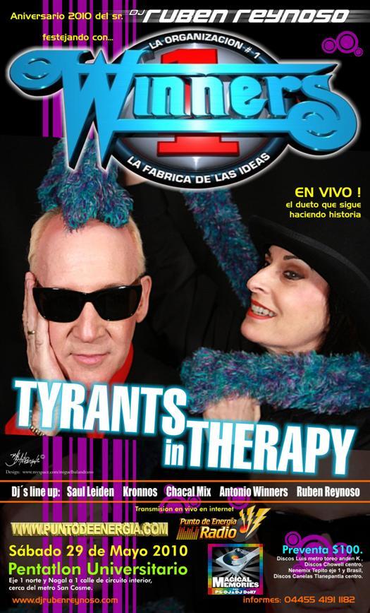 TIRANOS EN TERAPIA Y EDDY HUNTINGTON EN VIVO 2010 Tirano10