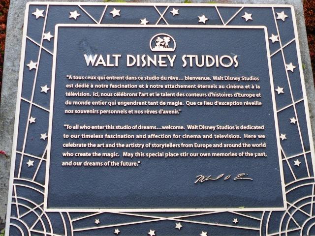 WALT DISNEY STUDIO Dscf2210
