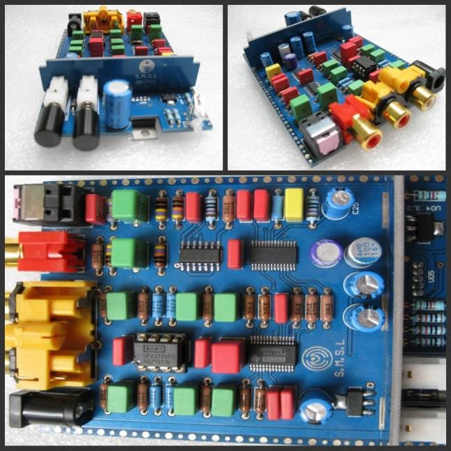 Nuovo look: DIR9001 + PCM1793 + OPA2134 24BIT 192KHz MINI DAC Dacp210