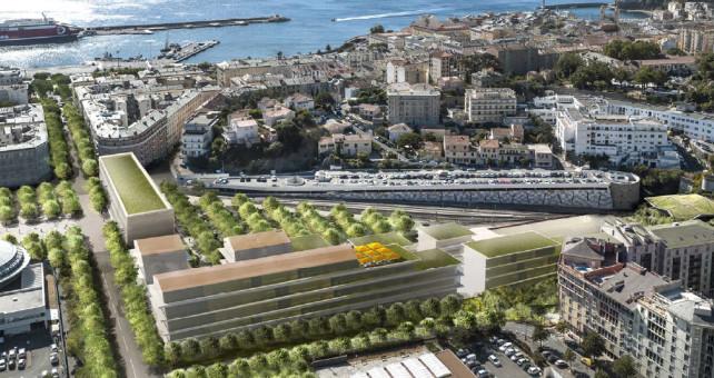 CFC - Chemins de fer de la Corse - de Calvi à l'ile Rousse - Page 2 Bastia10