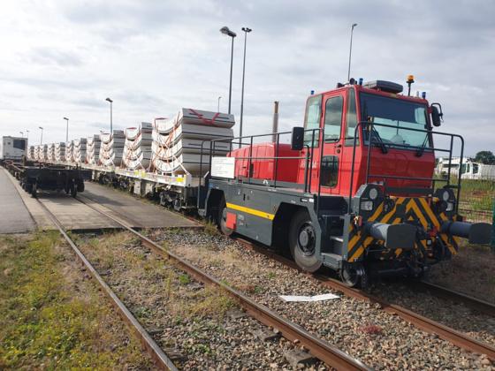 Bruz - voussoirs pour le chantier du prolongement du RER parisien Bruz10